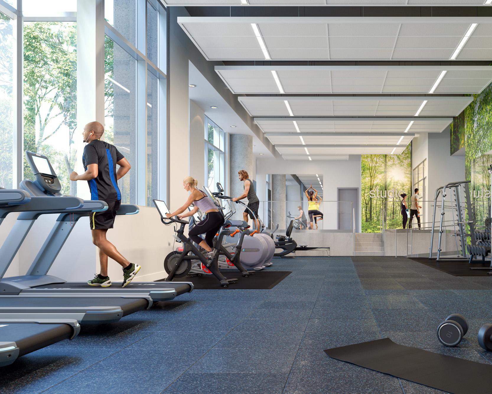 3901 Fairfax Drive Fitness Center