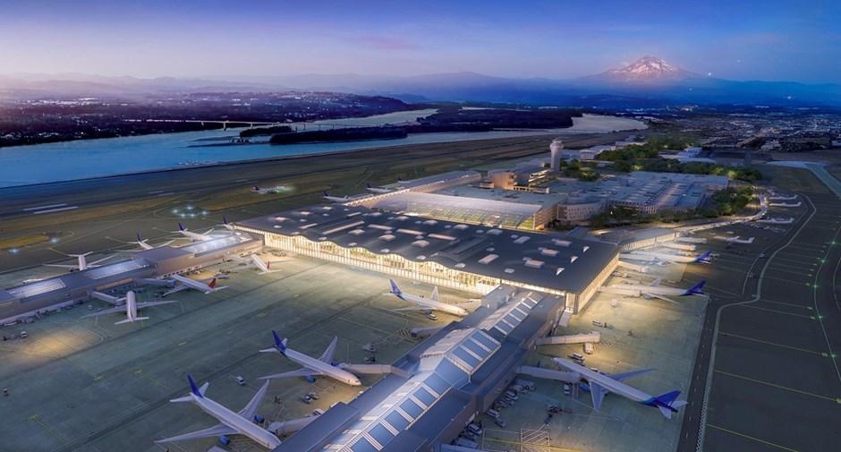 Prioritizing Innovation Collaboration And Sustainability At Portland International Airport Www Usa Skanska Com
