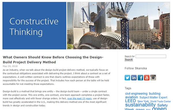 What Owners Should Know Before Choosing the Design-Build Project Delivery Method— 2,176 views