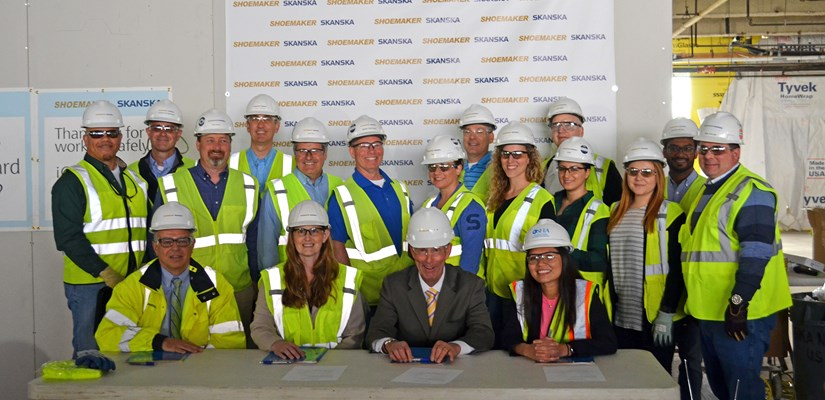 The joint venture of Skanska USA and Shoemaker Construction Co. and the Philadelphia Area Office of the Occupational Safety and Health Administration (OSHA) have announced a strategic partnership during construction of Fashion Outlets Philadelphia.