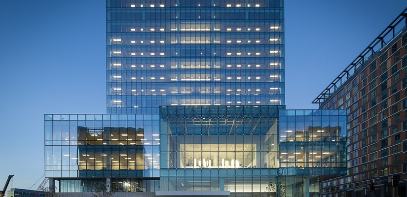 Skanska USA announced today it is moving its offices to 101 Seaport
