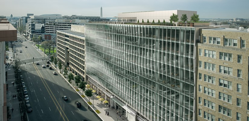 The George Washington University and Skanska Execute Ground Lease Deal for Site 75A