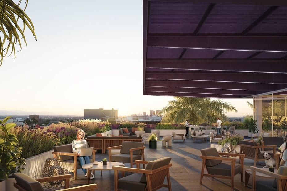 9000 Wilshire - Rooftop