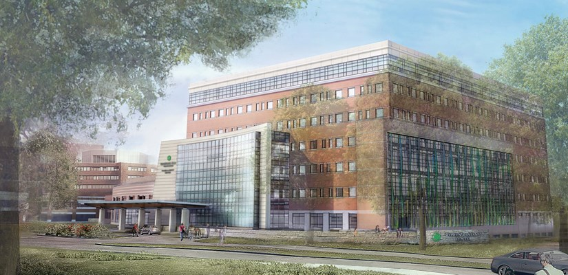 Skanska USA will be construction manager for the new Women and Children's Health Building for Christiana Care Health System in Newark, Delaware.