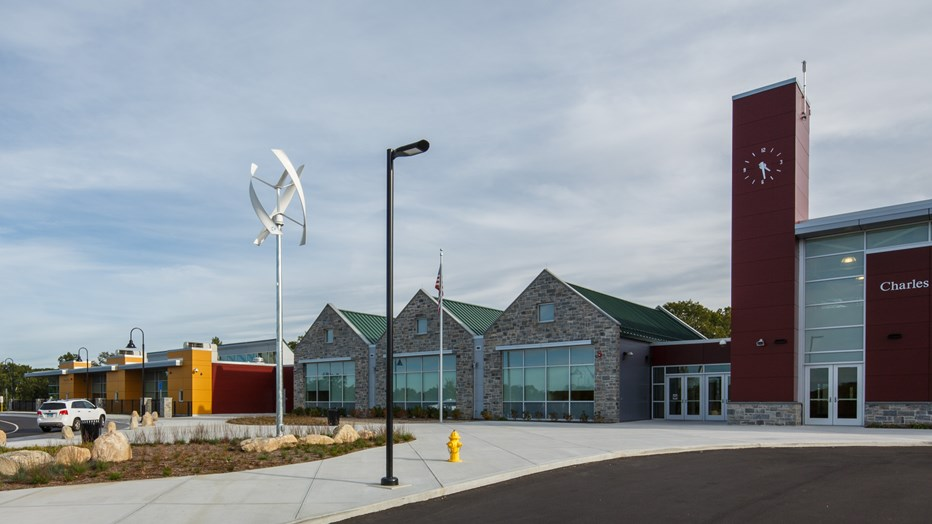 da5495a6 Skanska partnered with the Town of Windham to deliver this innovative,  interdistrict magnet school that