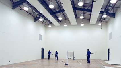 Recreational facilities include indoor sports courts at Colnbrook Immigration Removal Centre