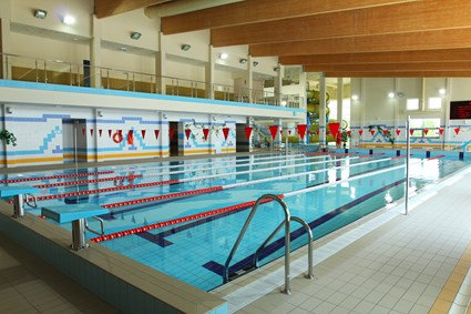 Indoor swimming pool in Kolbuszowa
