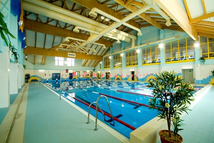 Indoor swimming pool in Strzyzów
