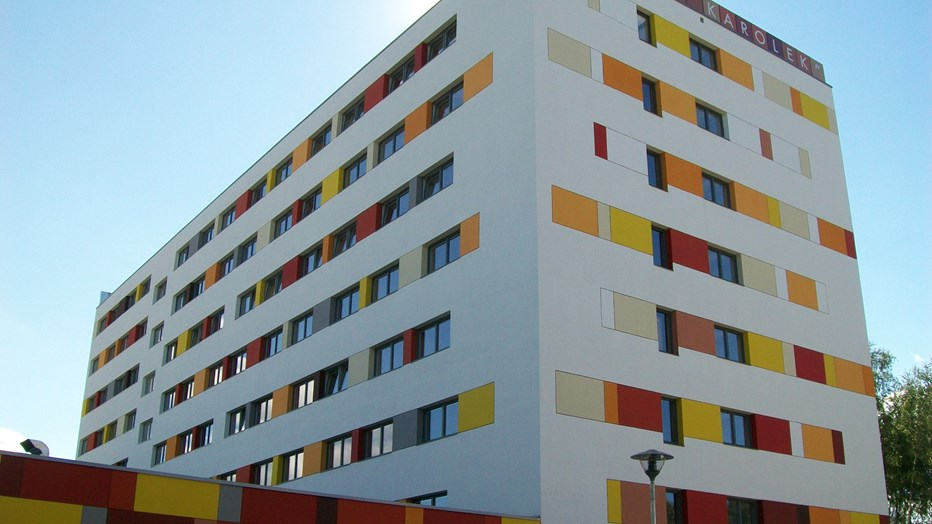 """Karolek"" dormitory for Poznan University of Medical Sciences"