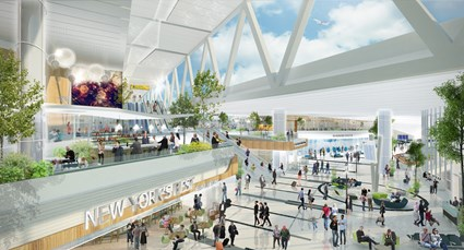 The more than 1.3 million square feet of the new Central Terminal Building will be flooded with natural light and feature exciting food, retail and beverage options for passengers.