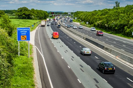 M25 Motorway, London