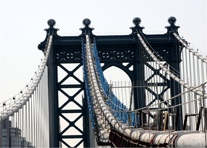 Manhattan Bridge Main Cable Platforms
