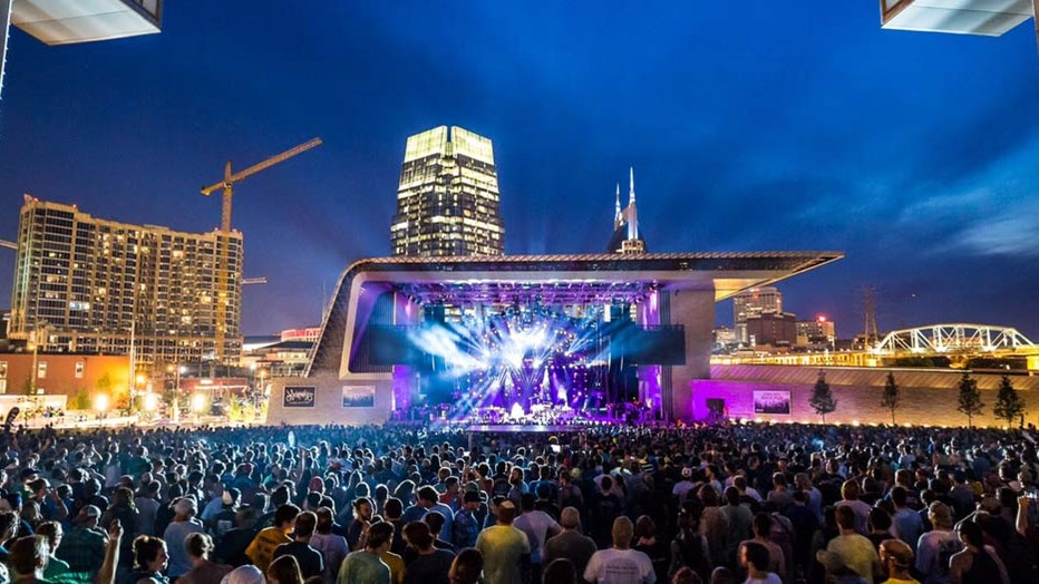 "The City of Nashville wanted a beautiful place to showcase all the ""City of Music"" has to offer. Skanska delivered a resilient park that exceeded its sustainability goals. Photo: aLIVE Coverage"