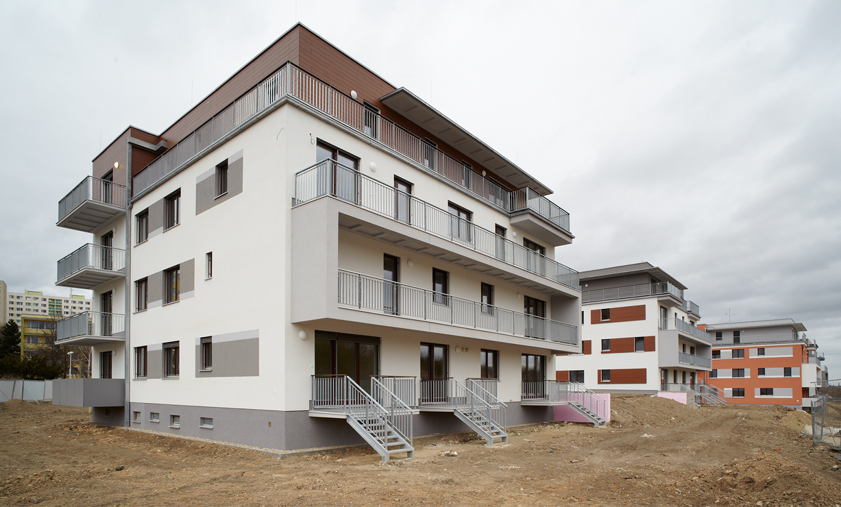 8b2de345 Milíčovský háj - South and East Apartment Houses | www.usa.skanska.com