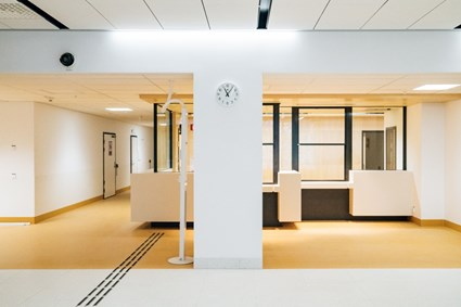 Reception Emergency department – Photographer Kristoffer Marchi