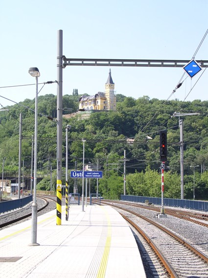 railway station Usti nad Labem4