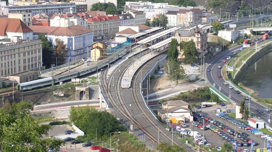 railway station Usti nad Labem1