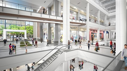 PREIT/Macerich, The Gallery Renovation Project
