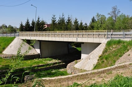 Bridge in Sonina in route of voivodeship road No. 881