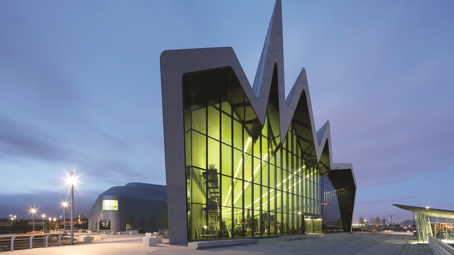 Clark and Fenn, part of SRW engineering services worked on the iconic Riverside Museum in Glasgow