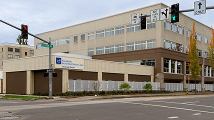 Sacred Heart Medical Center at University District Behavioral Health Relocation