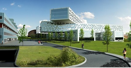 Offices for Statoil at Fornebu - Sketch