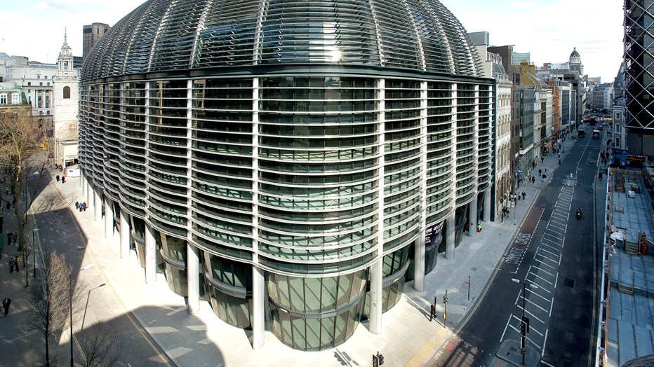 The Walbrook is in a busy London location