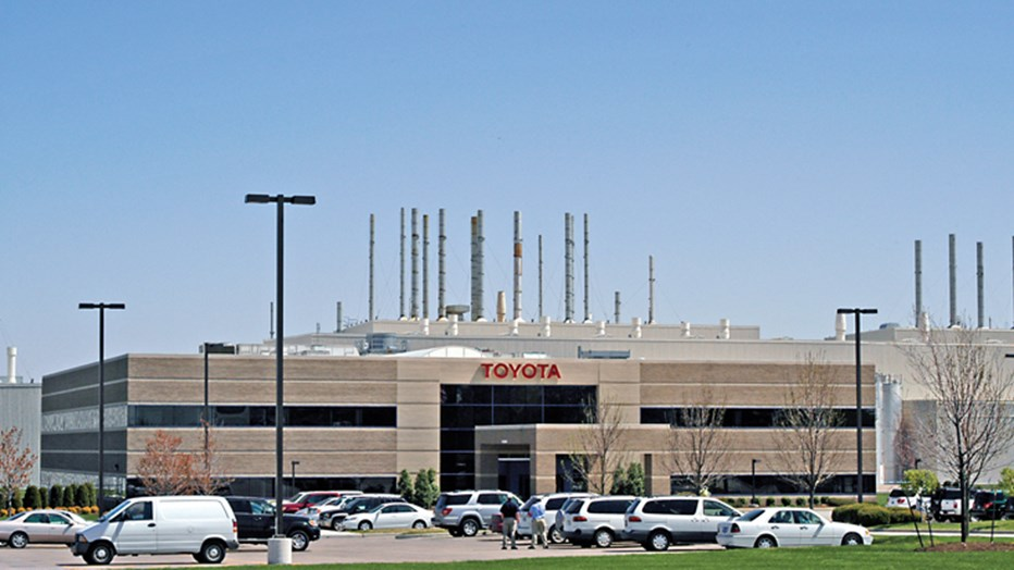 Toyota motor manufacturing initial plant foundations www for Motor manufacturers in usa