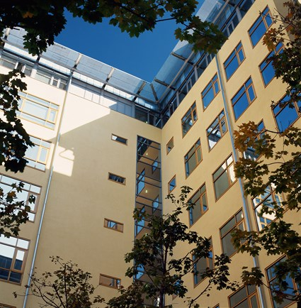 Internal Courtyard, West End Business Center, Budapest, Hungary
